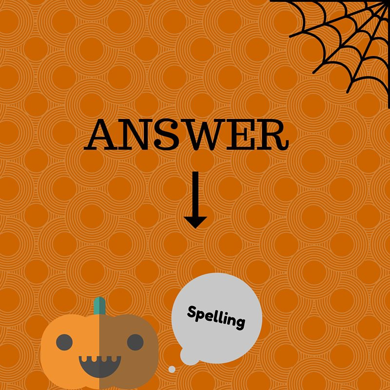 A. Spelling (1)