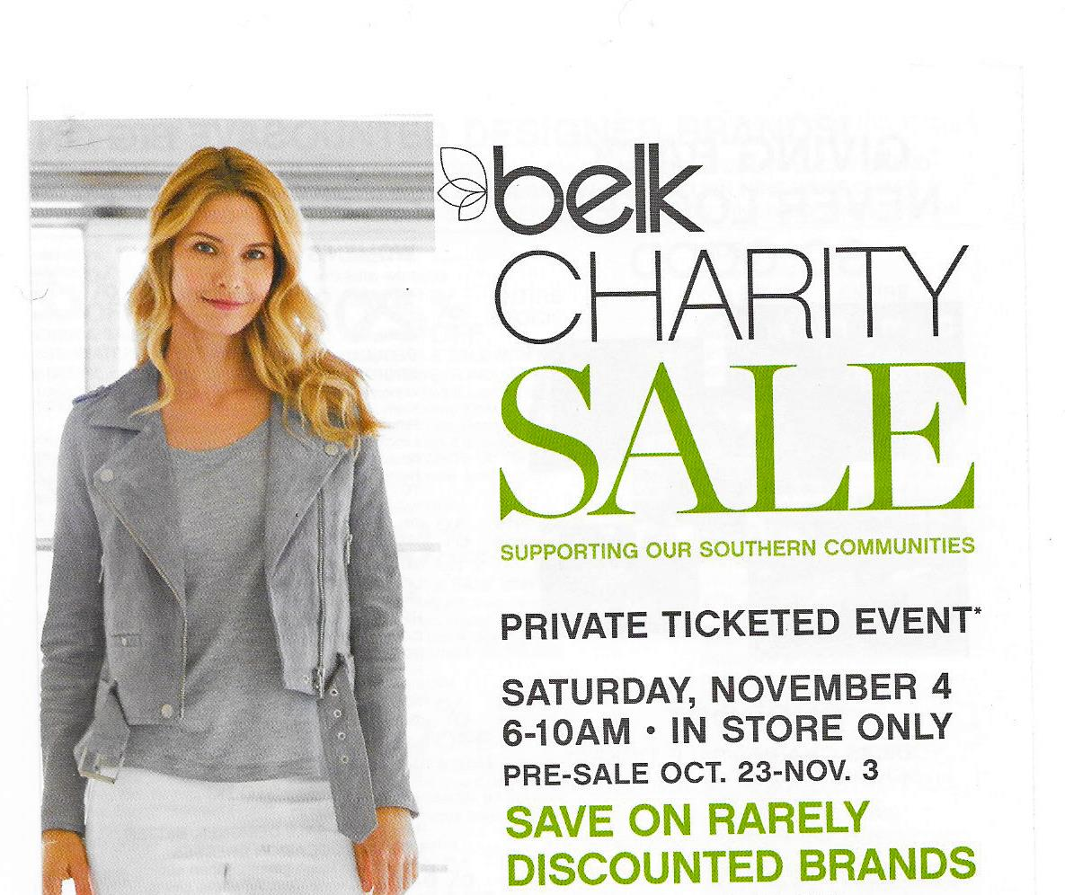 LRC Belk Charity Sale 2017