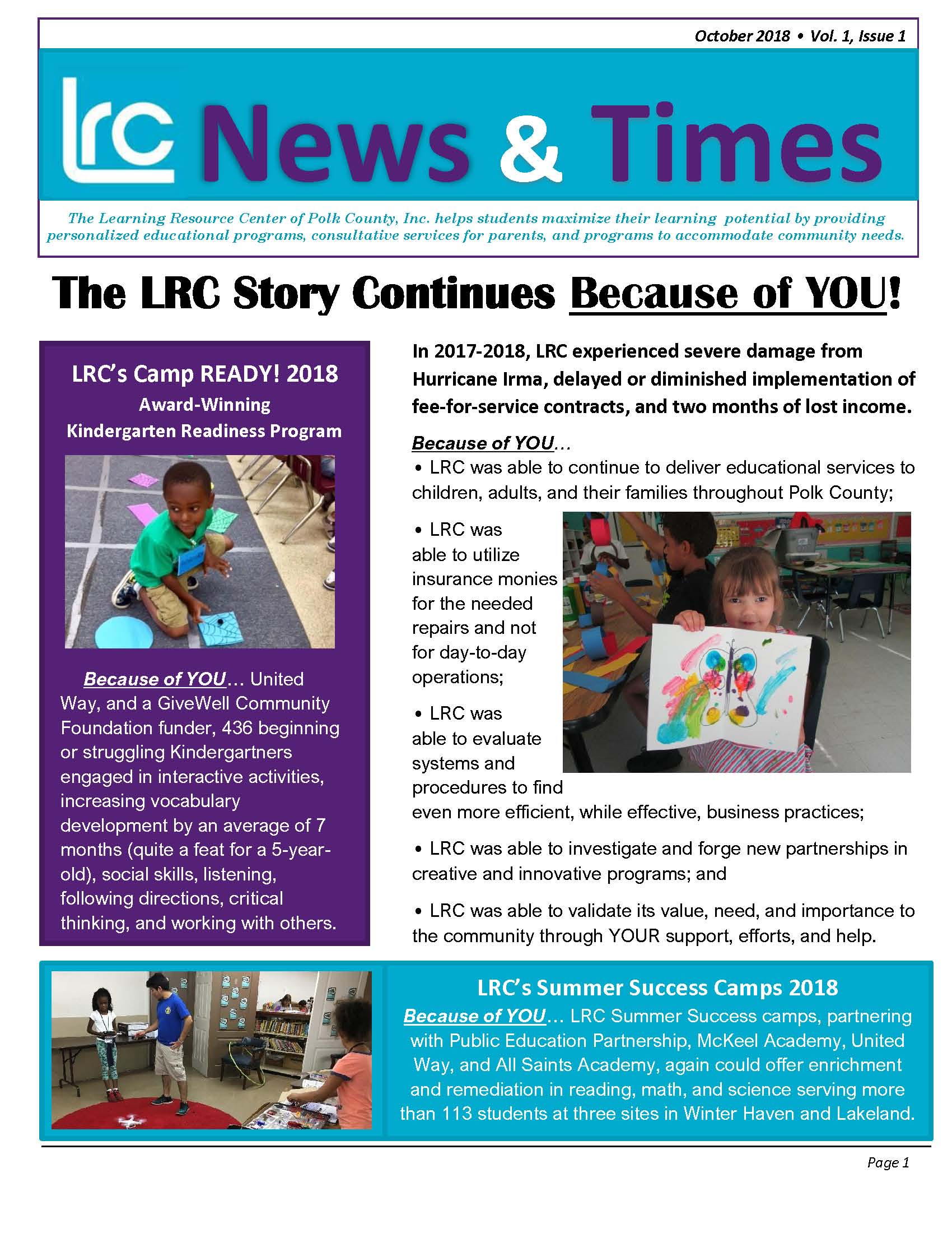 lrc-news-october-2018