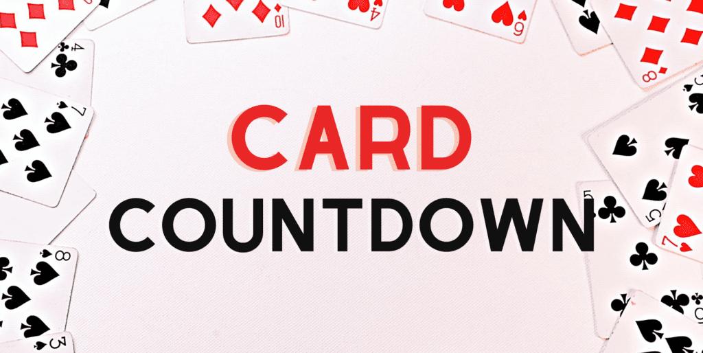 LRC LLI Math Cards Card Countdown