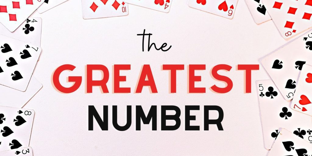 LRC LLI Math Cards Greatest Number