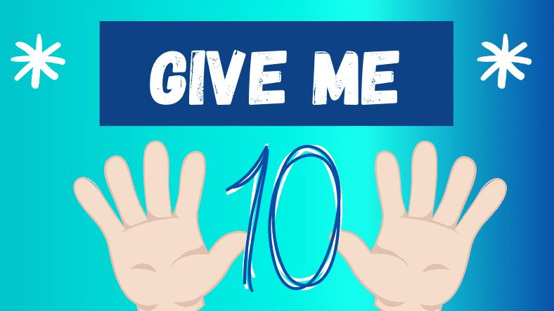 Give me ten math card game